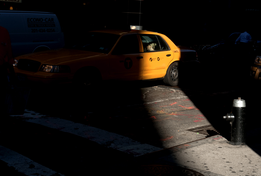 Peter Welch: Woman in Taxi